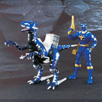 aba blue ranger & blue raptor set