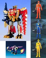 dx abaranger dx special set