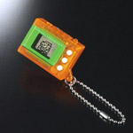 digimon mini clear orange ver3.0