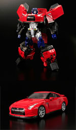 alternity a-01 convoy feat nissan gtr baburian red reissue