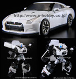 alternity a-01u ultra magnus gtr pearl white e-hobby exclusive