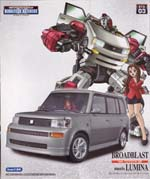 bta-03 broad blast feat toyota bB meets lumina