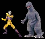 km-01kigurumicroman series godzilla first version