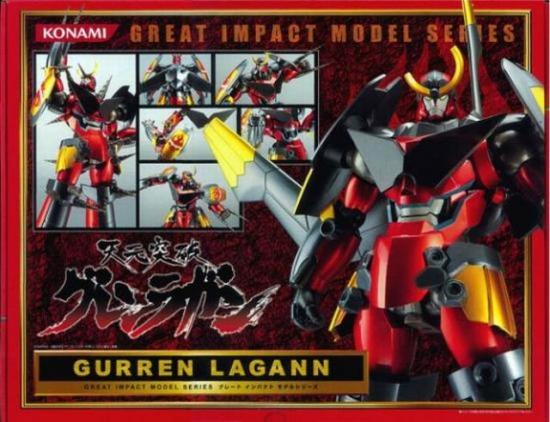 great impact model gurren lagann