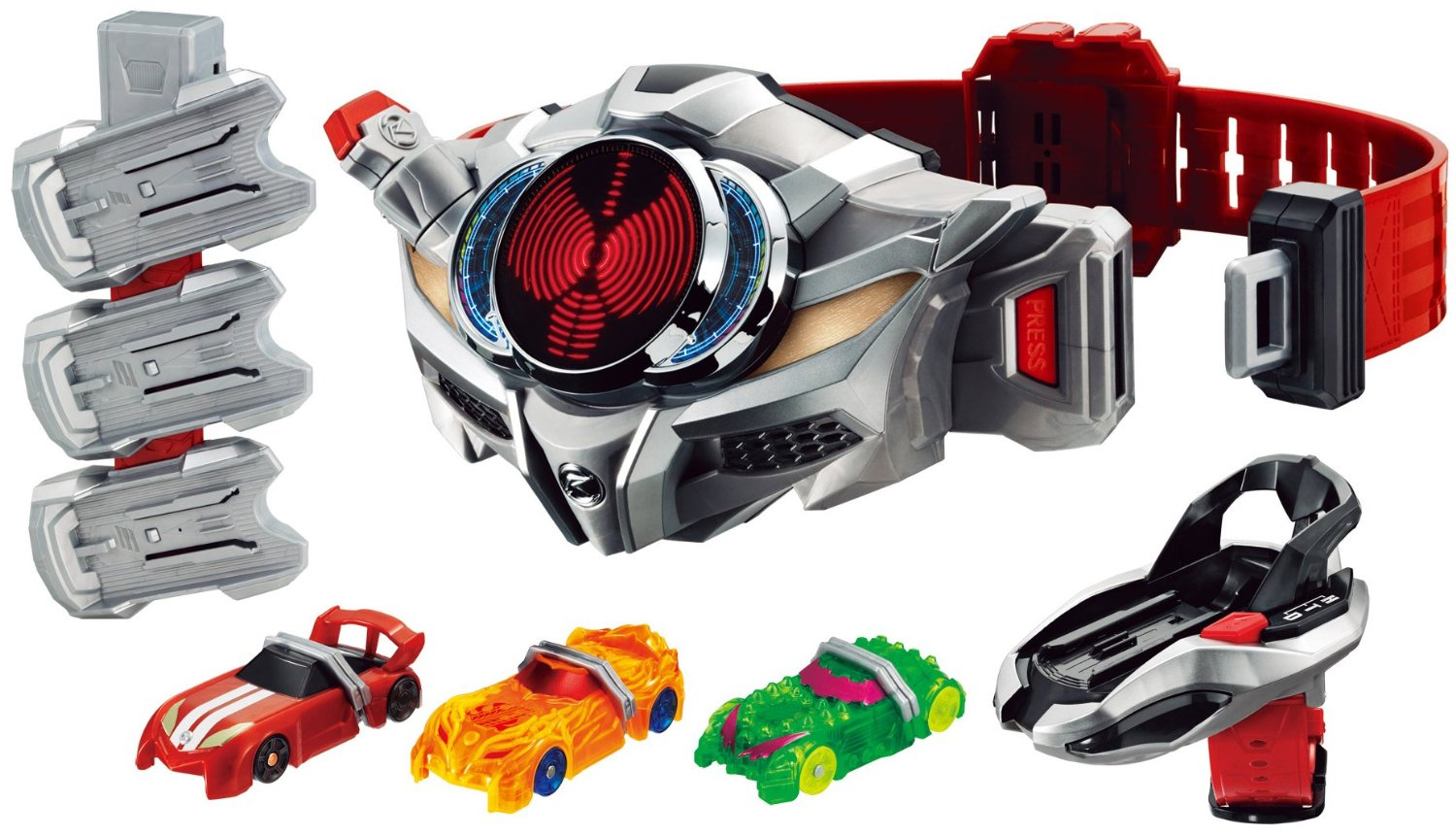 kamen rider drive driver & shift holder set