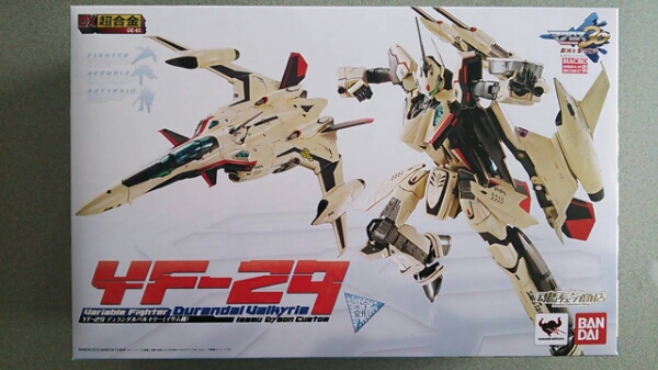 dx chogokin yf-29 isamu version