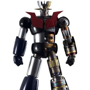 chogokin dx mazinger z with mazinger z comic book limited